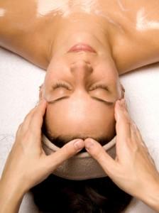 Head and shoulder massage